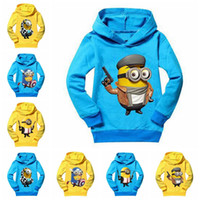 Wholesale Kids minions Clothing New Autumn children Hoodies boys minion girls nova baby toddler hoodies Autume boy tops clothes coats Outwear