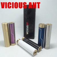 Cheap Vicious Ant full mechanical mods Phenom mod SS Brass Brass Huge vapor clone 18650 mod for RDA RBA atomizer vs smpl praxis apollo paragon v3