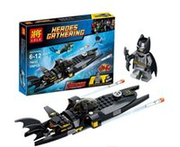 batman helicopter toy - hot sale Children The Avengers Batman Building Blocks Boys girl Super hero Batman helicopter scene DIY Bricks baby Toys