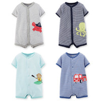 Wholesale Short Overalls For Baby Girls - Cute Fantasia Infantil Body Baby Rompers Kids Jumpsuit Overall for Toddlers Girl Boy Summer Newborn Bebe Clothing Infant Clothes