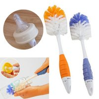 best bottle brush - Best Price in Baby Milk Feeding Bottle Nipple Teapot Nozzle Spout Tube Cleaning Brush Hanging design Convenient New