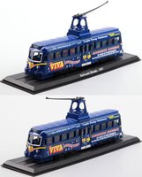 atlas line - Static car models ATLAS British pools amusement beach tram line tram Switzerland zakka decoration