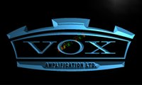 amplifier panel - LL180 TM VOX Amplifier Guitar Bass Band Neon Light Sign Advertising led panel jpg