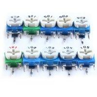 Wholesale JKLONG Horizontal Resistors Blue green White Adjustable kinds Each