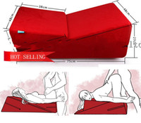 sex chair - Sex Chair Wedge piece Triangle Sponge Pad Adult Pillows Sex Cube Sofa Bed Diy Sex Furniture Sex Product For Couple