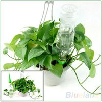 Wholesale 4Pcs Garden Cone Watering Spike Plant Flower Waterers Bottle Irrigation System LS