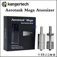Clone 1: 1 Aerotank Mega clone Atomiseur Pyrex Verre double serpentin 3.8ml kanger areotank atomiseur Contrôle de l'air aerotank mega atomiseur kits