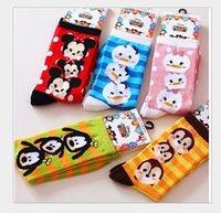 Wholesale 2pcs pair New Styles Children tsum tsum socks cm cartoon lady woman socks cotton