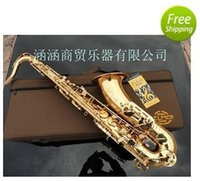 Wholesale EMS France Thelma Selmer Tenor Sax Reference electrophoresis gold