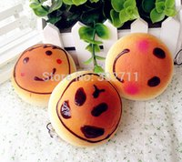 baby buns - 20Pcs CM Cartoon Blush Panda Baby Bun Bread Squishy Phone Charm Bag Charm Phone Straps