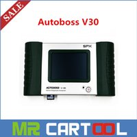 Wholesale 2015 Recommend Original autoboss v30 full system auto scanner support multi language Free Update Online DHL