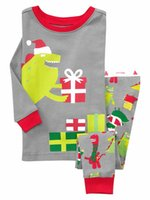 apparel for kids baby - gray christmas pajamas for children nightwear for boys long underwear kids apparel winter clothing for babies sleepwear cotton girls coat