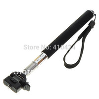 Wholesale Travel monopod Handheld Monopod With Tripod Mount Adapter For Go pro HD Hero Camera Equipment order lt no track