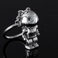 asimo keychain - Top Fashion Asimo Robot key chains keychain key holders key ring for honda auto car styling