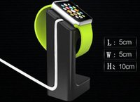 Wholesale Mini E7 Stand holder for Apple watch plastic Stand Smart charger intelligent for dispaly