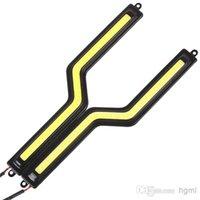 Wholesale New Product Daytime Running Light Cob Led Super Bright DRL Waterproof Led Lights Fog lights CEC_470
