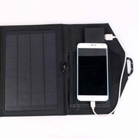 Wholesale Portable W Travel Solar Panel USB Charger Pack for Phone Tablet PC Laptop Charging Board