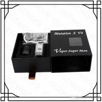 Precio de Tanque de mutación-cigarrillo electrónico mutación X V4 atomizador 510 vaporizador mutación X V4 RDA atomizador vaporizador E cigarrillos Reconstruible E tanque de cigarrillo