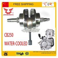 Wholesale zongshen cc crankshaft Crank Shaft Dirt bike ATV QUAD water cooled CB250 engine accessories order lt no track