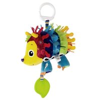 baby huey - New Huey the Hedgehog Lovely Baby Developmental Toy baby bed teether