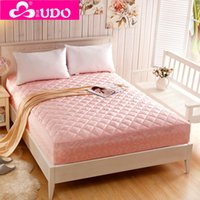 Wholesale You Duo Home Textile Quilted Mattress Protective Cover with Cotton for four Seasons Mattress Topper