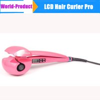 Wholesale New arrival Automatic LCD Hair Curler Pro Perfect Curl Hair Roller Styler Curling Styling Tools Brushless Motor Curling