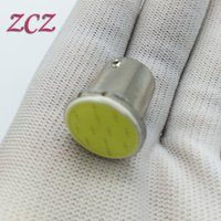 Wholesale Super White cob p21w led SMD ba15s v bulbs RV Trailer Truck car styling Light parking Auto led Car lamp C003