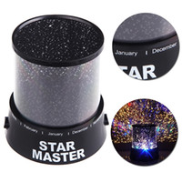 Wholesale Hot Sale Dreamlike Amazing Flashing Colorful Star Night Light Novelty LED Sky Star Master Night Lamp Projector Lamp