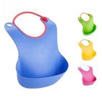Wholesale 1Pcs Baby Bibs towel Waterproof silicone Children girls boys infant bib towels