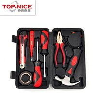 Wholesale Not Sale Set Complete Home Hardware Combination Set Screwdriver Hammer Pliers Tools Kit Household Routine Repair Tools