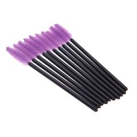 mini make up kit - Disposable Mini Brush Mascara Wands Eyelash Makeup make up Eyelash Brushes makeup Brushes