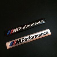 Wholesale New Aluminum Alloy D M performance M3 M5 Car Badge Emblem body sticker