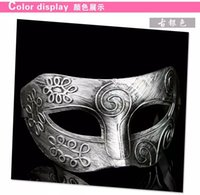 mask for men - Half Face Masquerade Masks Party Masquerade Masks Masquerade Masks For Man PVC Mask