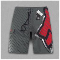 Wholesale S XXL Striped Style Aussie Fox Brand Men s Surf Board Shorts Quick Dry Quality Polyester Bermuda Masculina Swimwear
