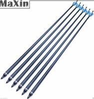 Wholesale quot Replaceable Aluminum Arrow Plastic Feather CM for lbs Compound Bow
