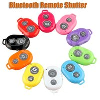 Wholesale Bluetooth Remote Camera Control Self timer Shutter for IOS and Android phones for iPhone S C S Galaxy S4 Note3 Smartphones and Tablet