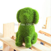 Wholesale 200pcs House decoration Hot sale animal grass small cute animal design decorations artificial animals grass land