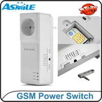 Wholesale Intelligent GSM SMS remote control socket power switch With Extended connected Temperature Sensor to schedule indoor temperature