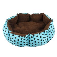 Wholesale Hot sale Newly Design Soft Fleece Warm Dog Bed House Plush Nest Mat Pad For Pets Puppy Cats July15