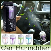 aromatherapy diffuser - Nanum Car Plug Air Humidifier Purifier Vehicular essential oil ultrasonic humidifier Aroma mist car fragrance Diffuser