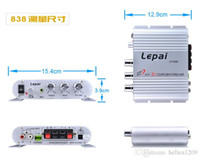 Wholesale Sell like hot cakes Leipai LP Mini Super Bass Channel Stereo Computer Car Amplifier Subwoofer Out