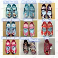 autumn shoes - 10 style Girls shoes Sofia Dora Frozen Elsa Anna Princess girl s flats shoes kids children Spring and autumn shoes High Quality