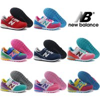 balance children - New Balance Running Shoes For Boys Girls Sneakers Fashion NB Cute Children Shoes Retro Kids Boots Lovely Sport Shoes