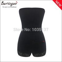Cheap 2015 Women's Tummy Control Shapewear Body Slimming Lace Bodysuit high waist high quality body shaper women slimming body shaper
