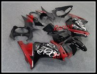 Wholesale 3 Gifts New Injection Mold ABS Fairings kits For For Kawasaki ZX250R Ninja ZX R EX EX250 Loves red silver