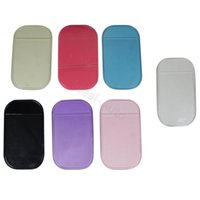 Wholesale Car Pad Small Anti Slip Non slip Mat Magic Dashboard Sticky Phone Holder Black