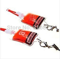 Wholesale Blood transfusion bags mobile phone strap mobile phone chain