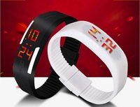 Wholesale 2015 Smart Touch Screen LED Watch Plastic Rubber Fashion boys girls men Women sprots Watches Digital Watch Jewellery Bracelets Gift