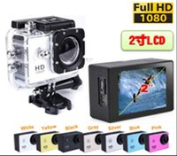 Wholesale A9 digital camcorder Waterproof gopro Sports DV HD Action Sport Camera Car DVR Gopro Style P MP H Inch LCD