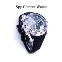 8G 1080p waterproof hd digital video camera - Mens Infrared HD P Waterproof Watch Video Camera fps Digital Videokamera Kamera Photo Image Sound Voice Recording W5000